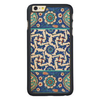 Capa Para iPhone 6 Plus De Bordo, Carved azulejo do iznik