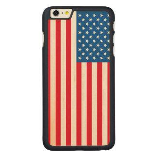 Capa Para iPhone 6 Plus De Bordo, Carved Bandeira dos Estados Unidos da bandeira dos EUA