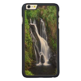 Capa Para iPhone 6 Plus De Bordo, Carved Cachoeira, costa de Hamakua, Havaí