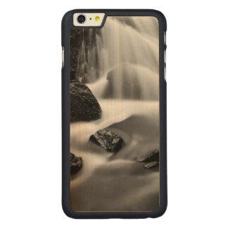 Capa Para iPhone 6 Plus De Bordo, Carved Cachoeira de B&W, Califórnia