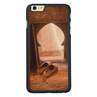 Capa Para iPhone 6 Plus De Bordo, Carved Calçados marroquinos na janela