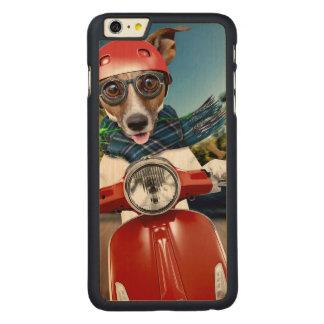 Capa Para iPhone 6 Plus De Bordo, Carved Cão do patinete, jaque russell