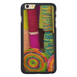 Capa Para iPhone 6 Plus De Bordo, Carved Cestas coloridas no mercado