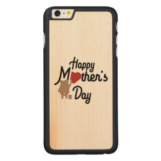 Capa Para iPhone 6 Plus De Bordo, Carved Feliz dia das mães Zg6w3