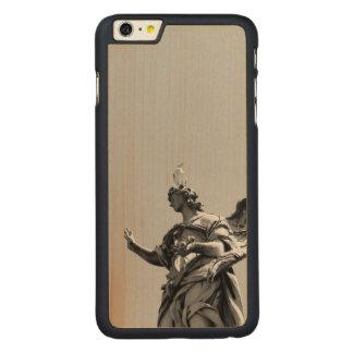 Capa Para iPhone 6 Plus De Bordo, Carved Foto simples, moderna da gaivota sobre a estátua