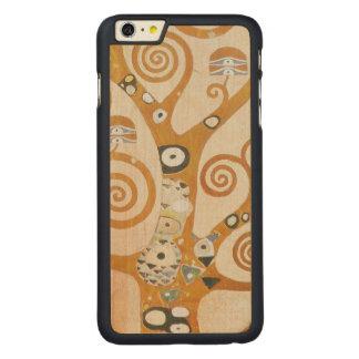 Capa Para iPhone 6 Plus De Bordo, Carved Gustavo Klimt a árvore da arte Nouveau da vida
