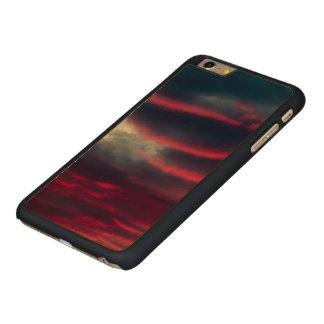 Capa Para iPhone 6 Plus De Bordo, Carved longe de nossa janela