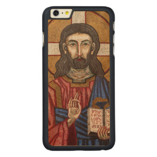 Capa Para iPhone 6 Plus De Bordo, Carved Mosaico antigo de Jesus