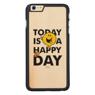 Capa Para iPhone 6 Plus De Bordo, Carved O Sr. Feliz | é hoje um dia feliz