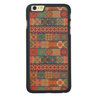 Capa Para iPhone 6 Plus De Bordo, Carved Ornamento de talavera do mosaico do vintage