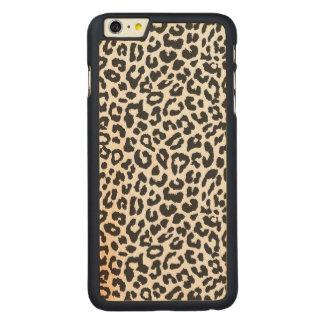 Capa Para iPhone 6 Plus De Bordo, Carved Padrões pretos & brancos da pele animal do
