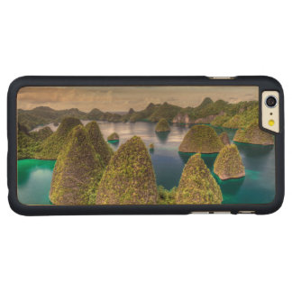 Capa Para iPhone 6 Plus De Bordo, Carved Paisagem da ilha de Wayag, Indonésia