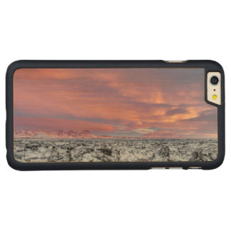 Capa Para iPhone 6 Plus De Bordo, Carved Paisagem nevado do campo de lava, Islândia