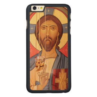 Capa Para iPhone 6 Plus De Bordo, Carved Pintura de Jesus