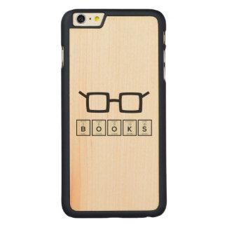Capa Para iPhone 6 Plus De Bordo, Carved Registra os vidros Zh6zg do nerd do elemento