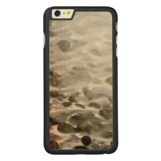 Capa Para iPhone 6 Plus De Bordo, Carved Reserva de pedra do estado de Lobos do ponto da