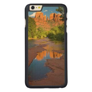 Capa Para iPhone 6 Plus De Bordo, Carved Rio no cruzamento vermelho da rocha, arizona