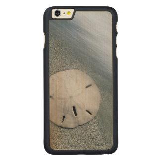 Capa Para iPhone 6 Plus De Bordo, Carved Sanddollar na ilha da praia | Sanibel, Florida