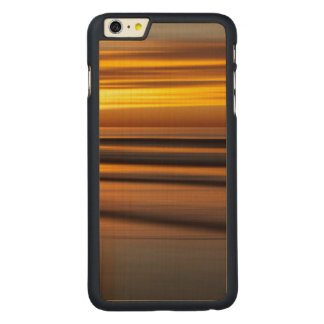 Capa Para iPhone 6 Plus De Bordo, Carved Seascape abstrato no por do sol, CA