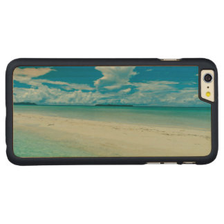 Capa Para iPhone 6 Plus De Bordo, Carved Seascape tropical azul, Palau