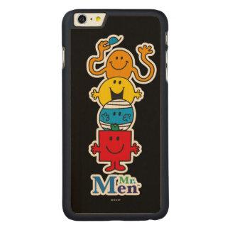 Capa Para iPhone 6 Plus De Bordo, Carved Sr. Homem Standing Alto do Sr. Homem |