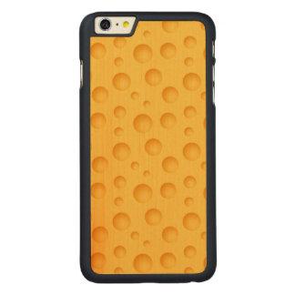 Capa Para iPhone 6 Plus De Bordo, Carved Teste padrão amarelo do queijo