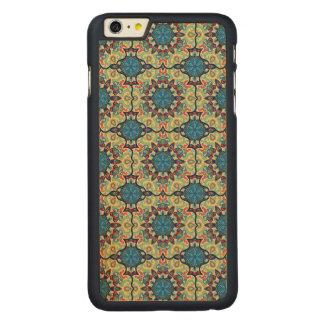 Capa Para iPhone 6 Plus De Bordo, Carved Teste padrão floral étnico abstrato colorido de da