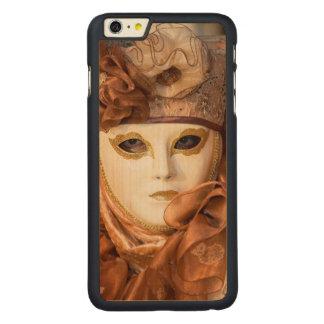 Capa Para iPhone 6 Plus De Bordo, Carved Traje alaranjado do carnaval, Veneza