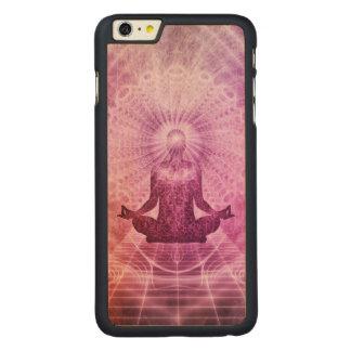 Capa Para iPhone 6 Plus De Bordo, Carved Zen espiritual da meditação da ioga colorido