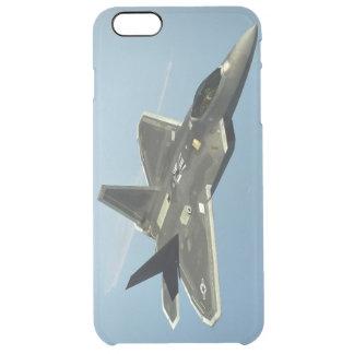 Capa Para iPhone 6 Plus Transparente Avião de combate F-22
