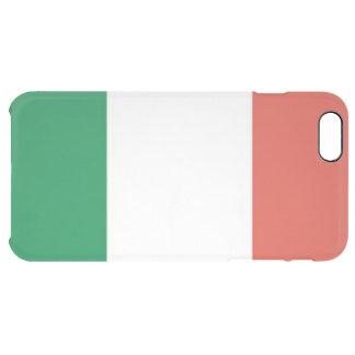 Capa Para iPhone 6 Plus Transparente bandeira italiana
