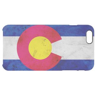 Capa Para iPhone 6 Plus Transparente Bandeira patriótica do estado de Colorado do