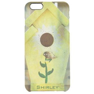Capa Para iPhone 6 Plus Transparente Birdhouse por Shirley Taylor