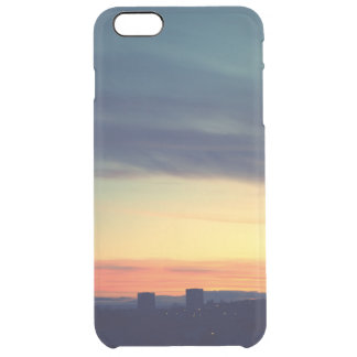 Capa Para iPhone 6 Plus Transparente Caso retro do iPhone 6/6s Clearly™ com por do sol