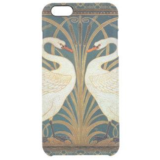 Capa Para iPhone 6 Plus Transparente Cisne do guindaste de Walter, precipitação e arte
