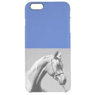 Capa Para iPhone 6 Plus Transparente coleção do cavalo. árabe