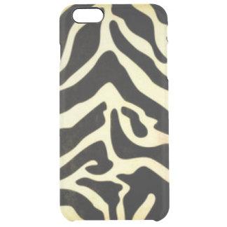 Capa Para iPhone 6 Plus Transparente Design preto do impressão do teste padrão do tigre