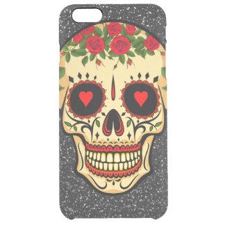 Capa Para iPhone 6 Plus Transparente Dia dos corações e das flores inoperantes do