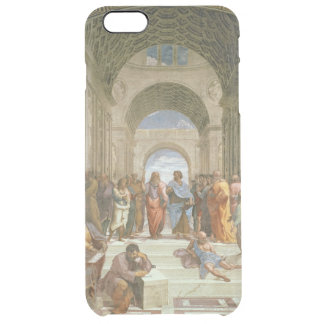 Capa Para iPhone 6 Plus Transparente Escola de Atenas, do della da estância
