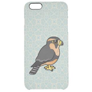 Capa Para iPhone 6 Plus Transparente Falcão peruano de Birdorable Aplomado