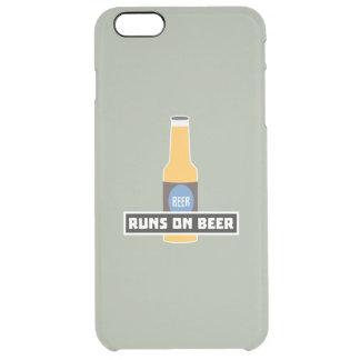 Capa Para iPhone 6 Plus Transparente Funcionamentos na cerveja Z7ta2