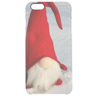 Capa Para iPhone 6 Plus Transparente Gnomo escandinavo do Natal
