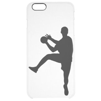 Capa Para iPhone 6 Plus Transparente Handball