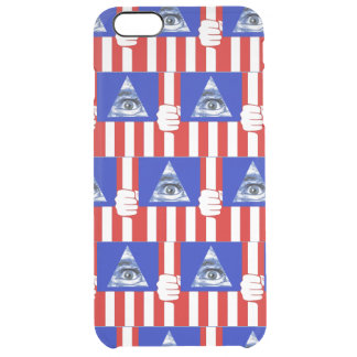 Capa Para iPhone 6 Plus Transparente Iluminati
