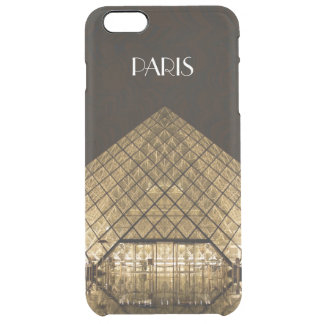 Capa Para iPhone 6 Plus Transparente iPhone 6/6S da pirâmide do Louvre mais o caso