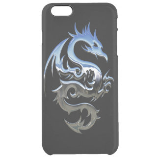 Capa Para iPhone 6 Plus Transparente iPhone 6/6S do dragão mais o caso claro