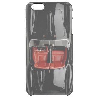 Capa Para iPhone 6 Plus Transparente iPhone 6/6S do preto do carro de esportes mais o