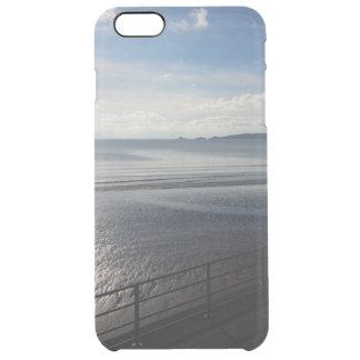 Capa Para iPhone 6 Plus Transparente iPhone 6/6s do verão de YinYang + Caso Sunpyx de