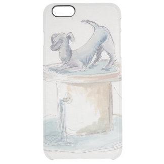 """Capa Para iPhone 6 Plus Transparente IPhone raro 6/6s cancela da """"o cão/Londres"""