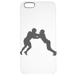 Capa Para iPhone 6 Plus Transparente Jogador de futebol americano